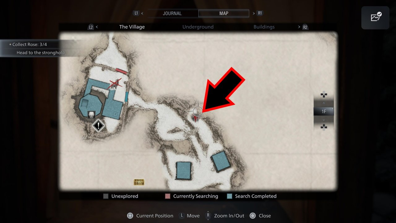 Resident Evil Village Moreau Ball location - map of where to find ball