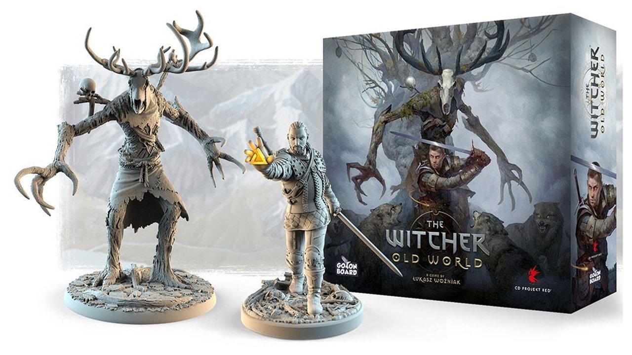 The witcher board game kickstarter old world