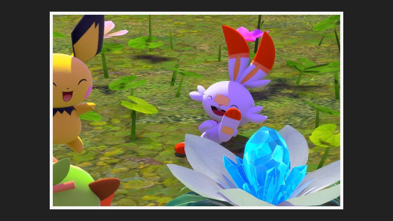 Three friends among flowers new pokemon snap guide