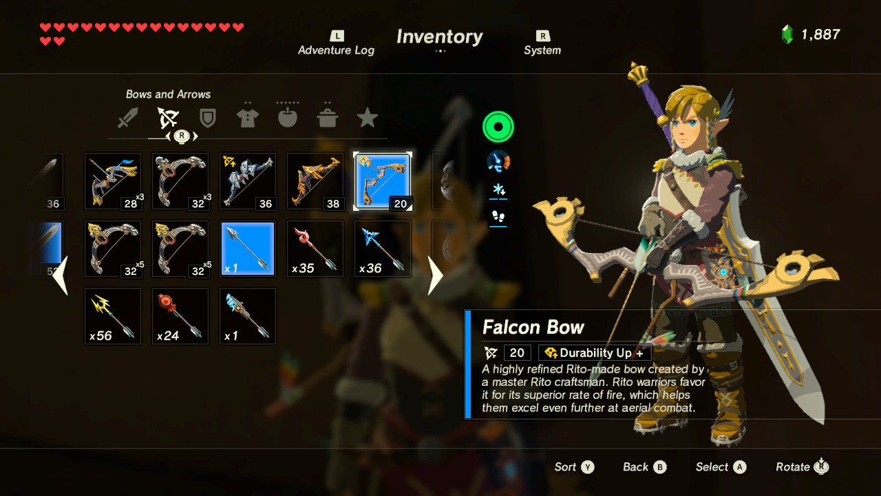 Breath of the Wild 2 changes that we need weapon wheel