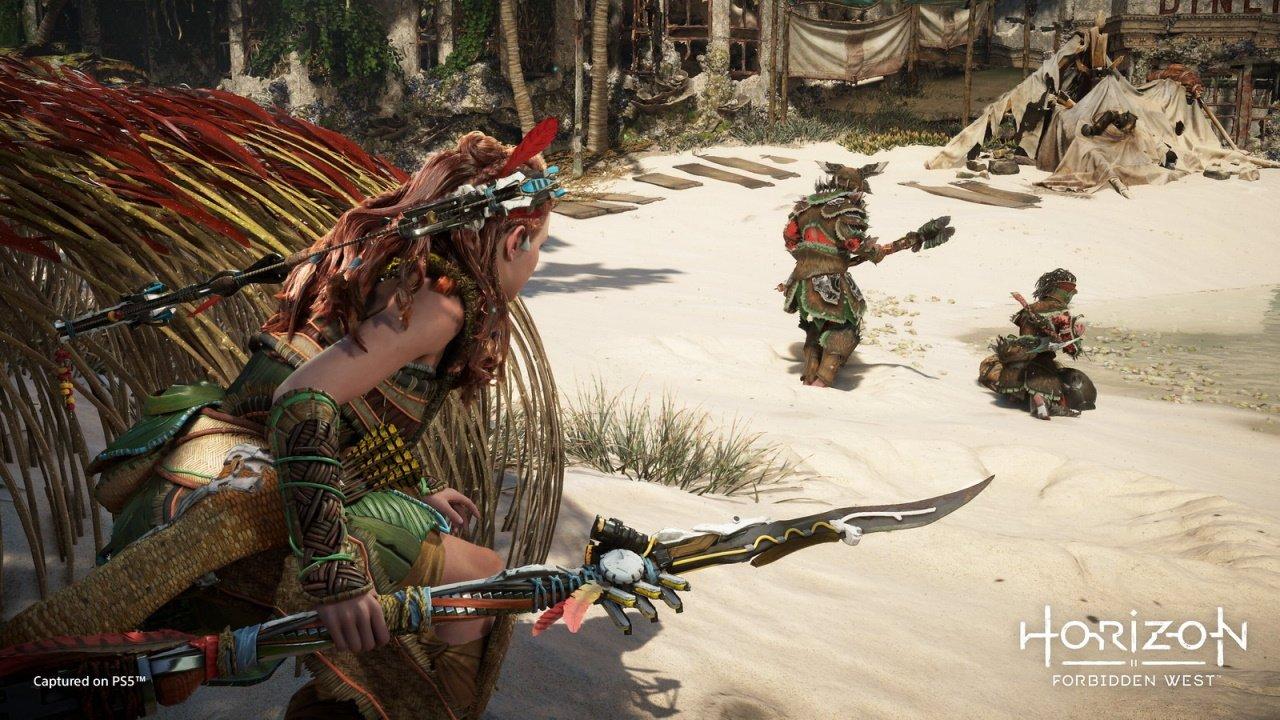 Horizon Forbidden West new equipment tools weapons machines