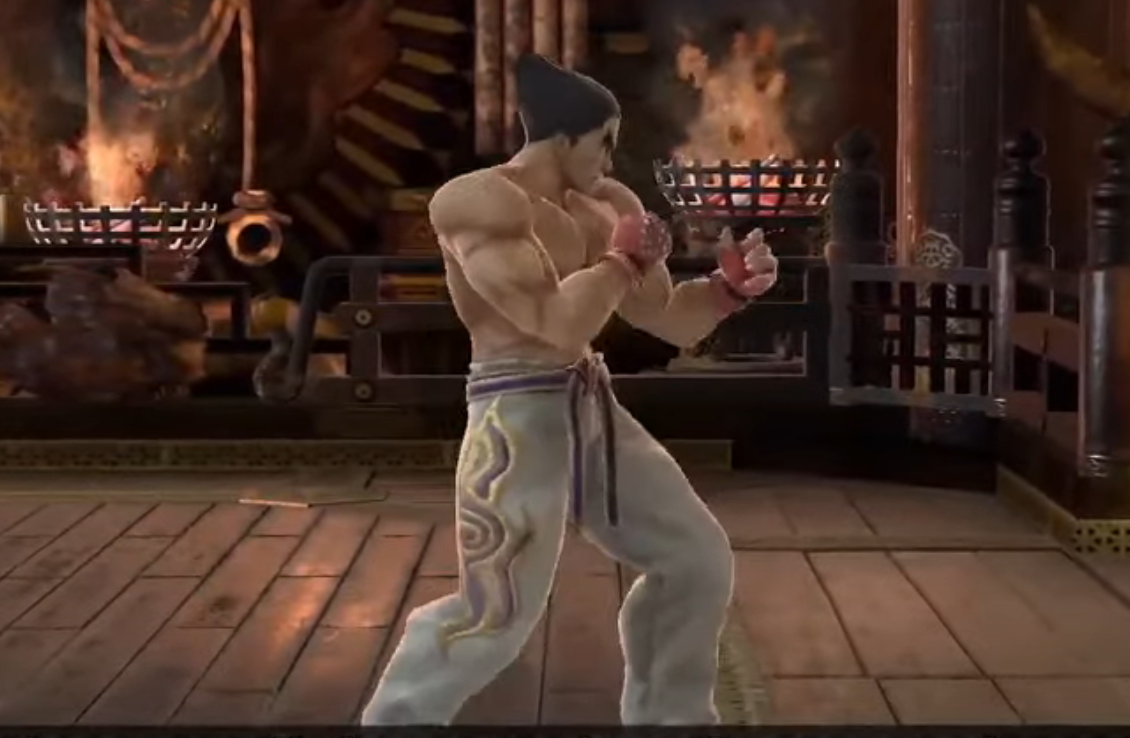 Kazuya Mishima moveset in Super Smash Bros. Ultimate © Nintendo