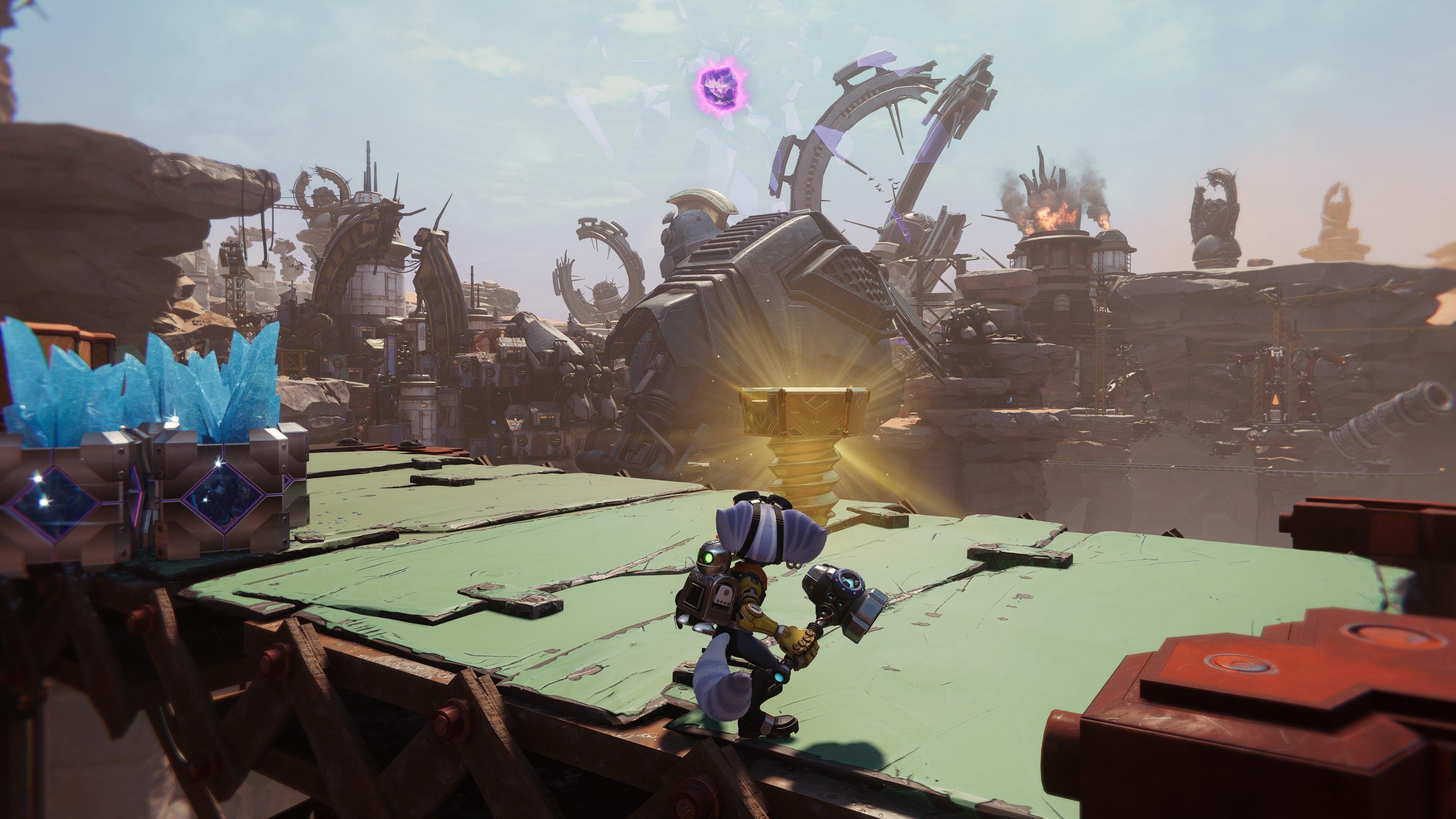 Ratchet and Clank: Rift Apart Torren IV Golden Bolt Guide