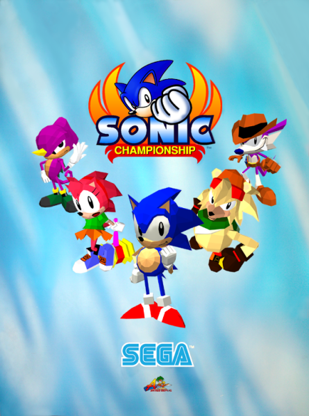Sonic spin offs sonic championship the fighters