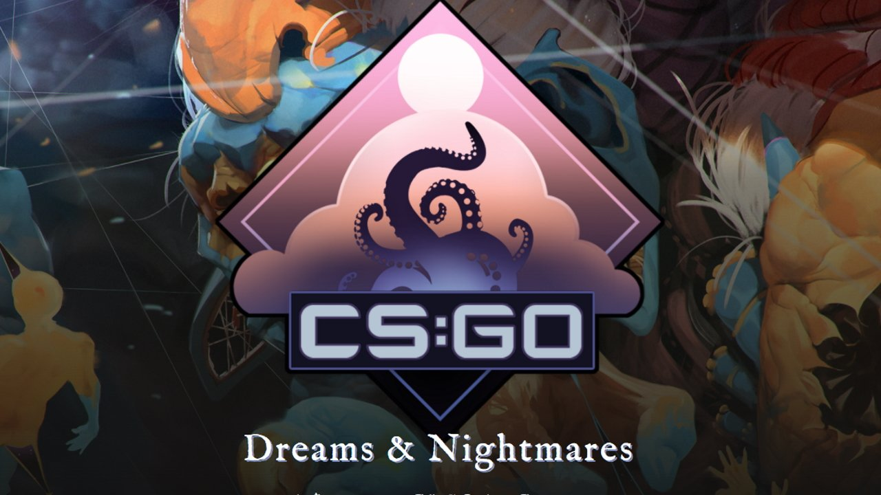 CS:GO Dreams and Nightmares art competition