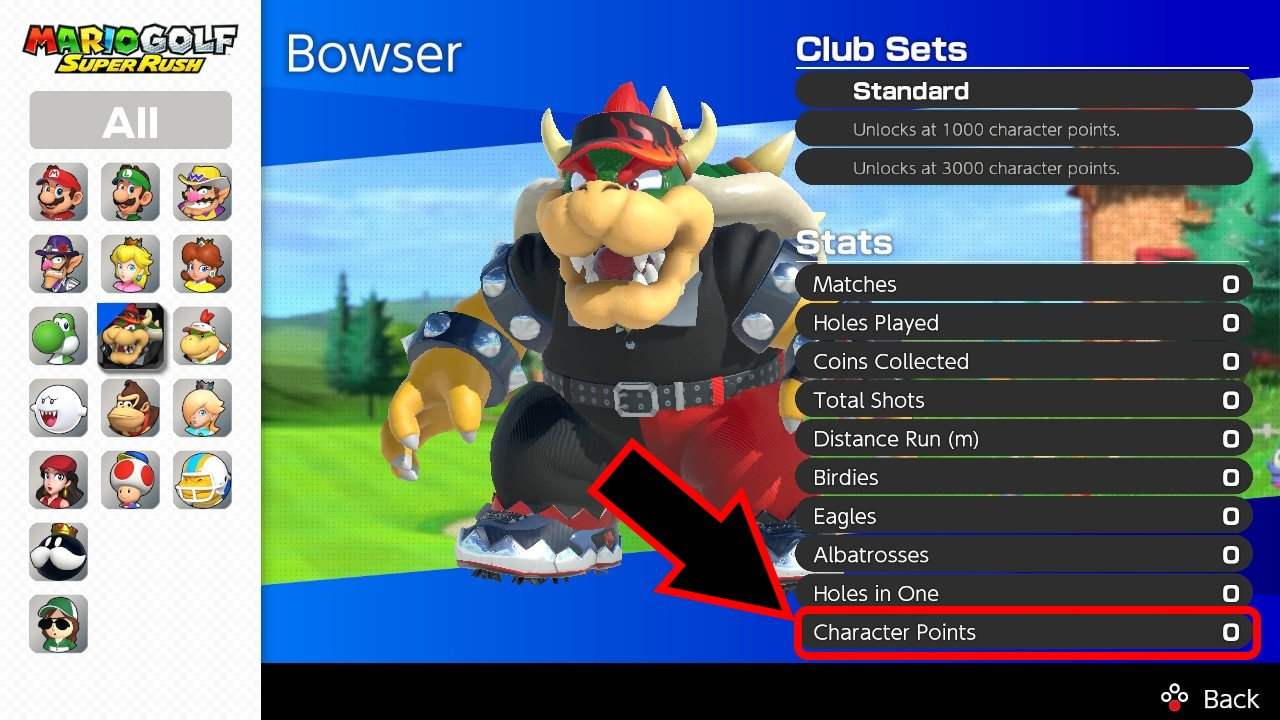 How to get star clubs mario golf super rush