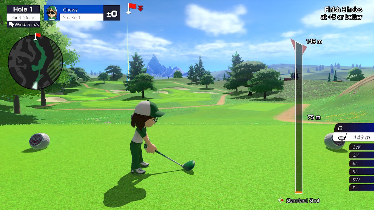 How to use Backspin in Mario Golf