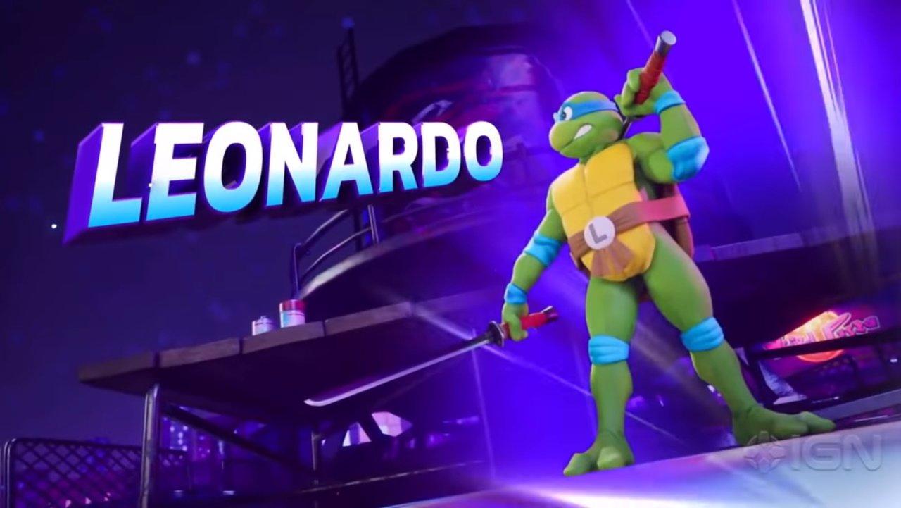 Nickelodeon all-star brawl confirmed character roster Leonardo
