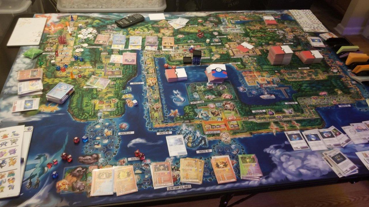 Pokemon board game fan made ultimate