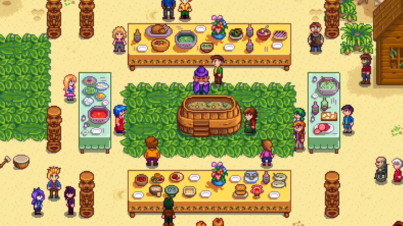 Video game characters who love chocolate stardew valley