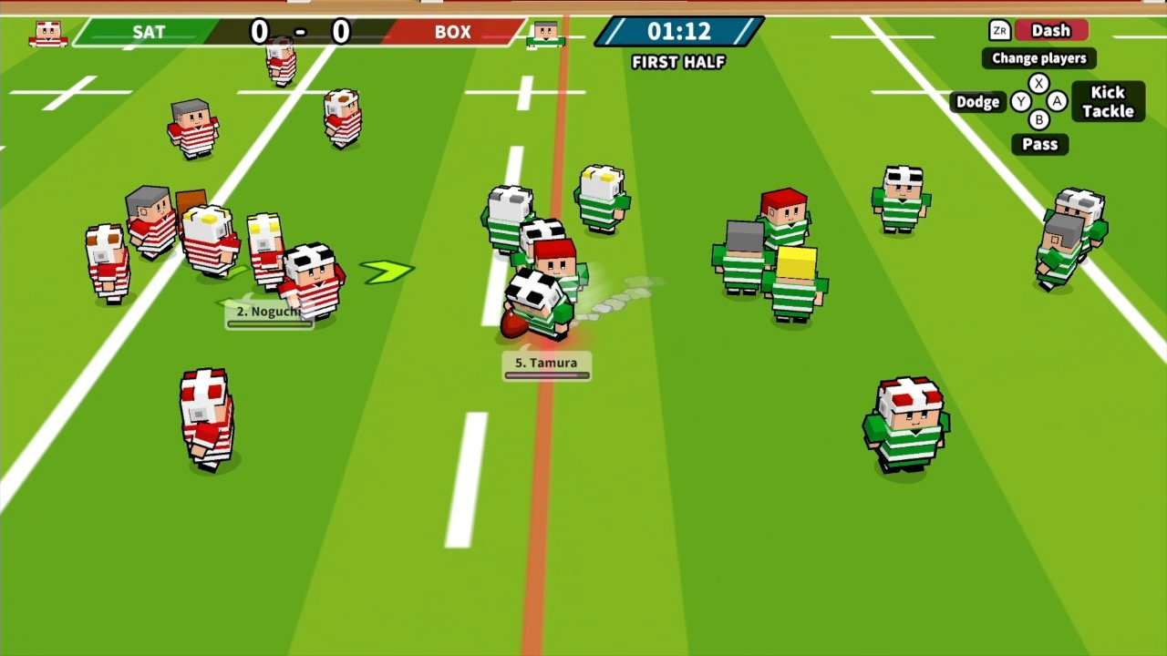 Video game olympics desktop rugby