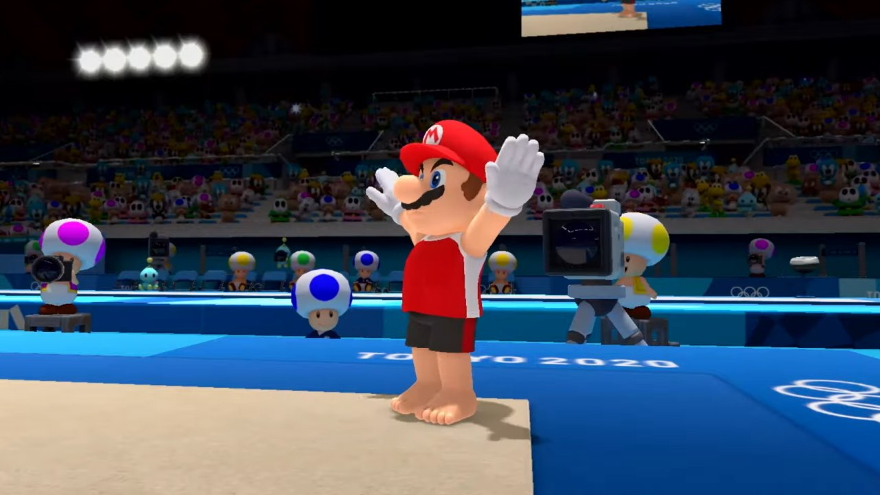 Video game olympics mario and sonic