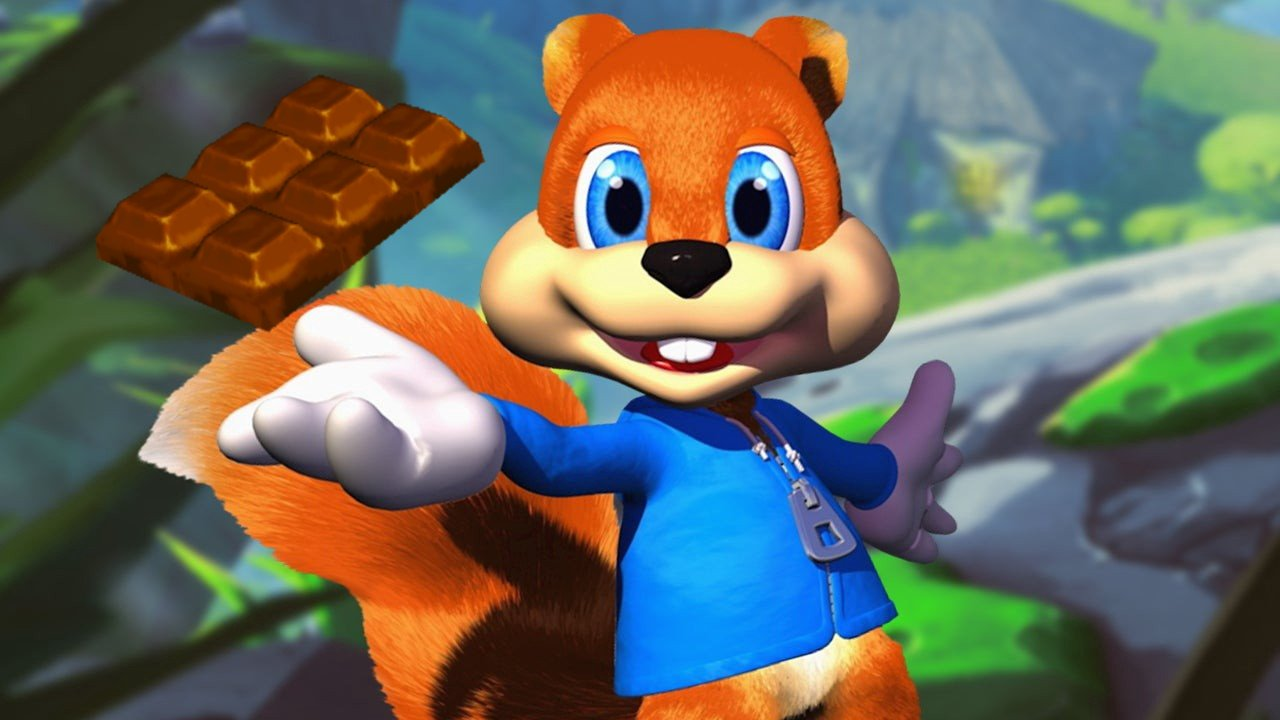 Video game stars who secretly love chocolate conker