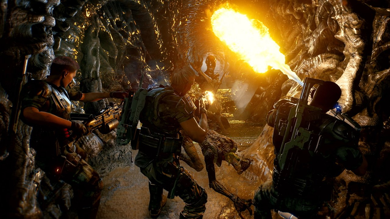 Aliens fireteam elite controls guide PS4 Xbox PC