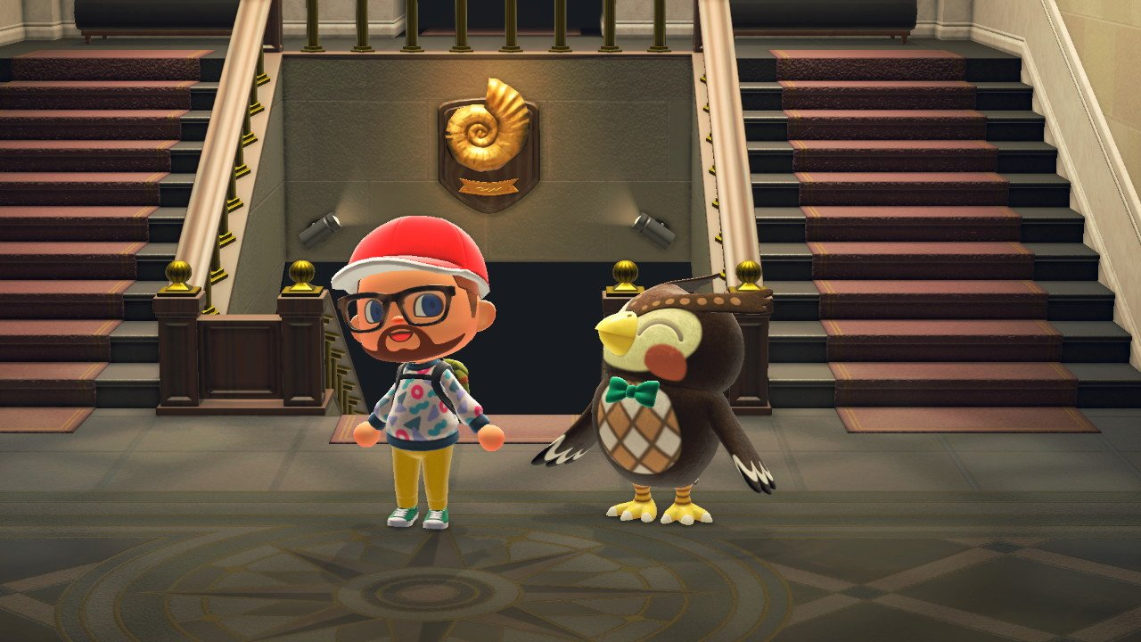 Animal Crossing New Horizons brewsters cafe