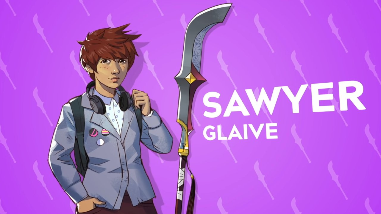 Boyfriend Dungeon weapons list sawyer