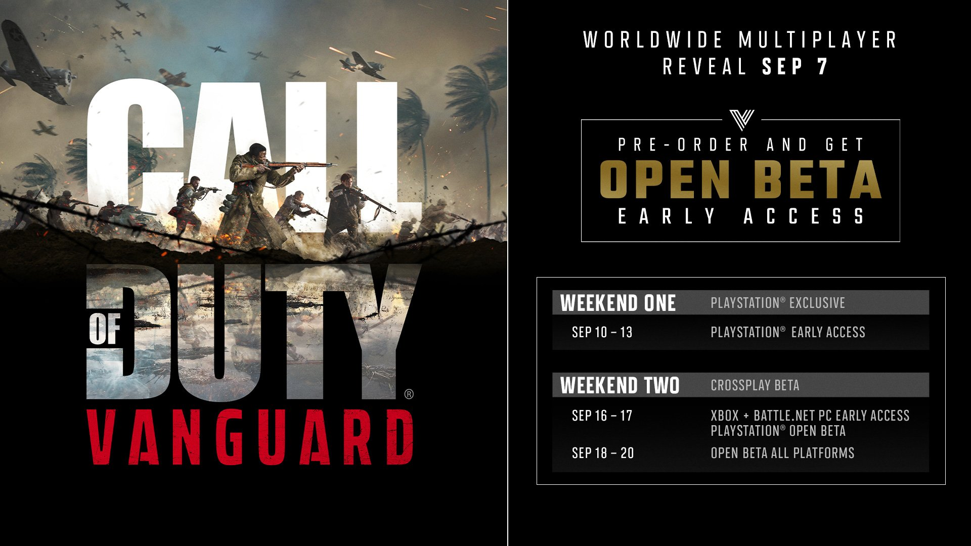 Call of duty vanguard early access