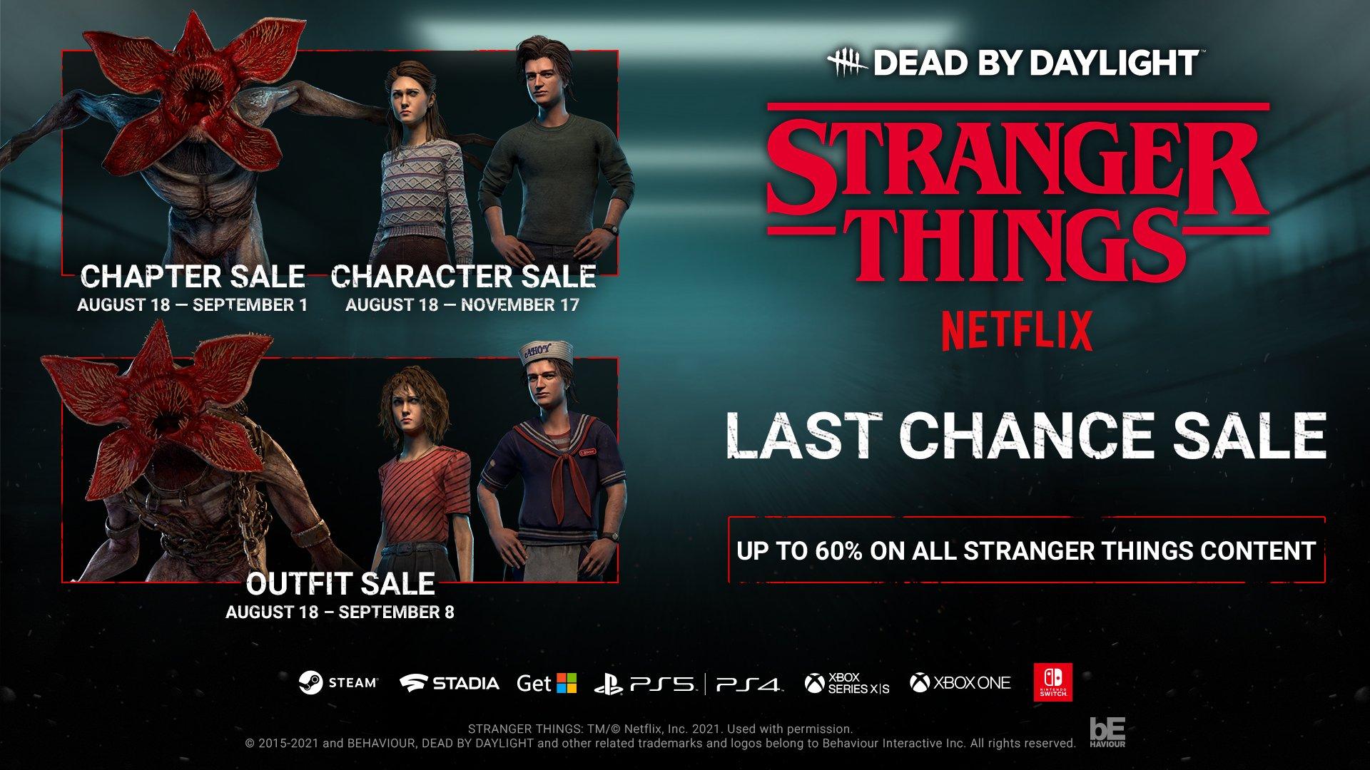 Dead by daylight stranger things last chance sale hellraiser