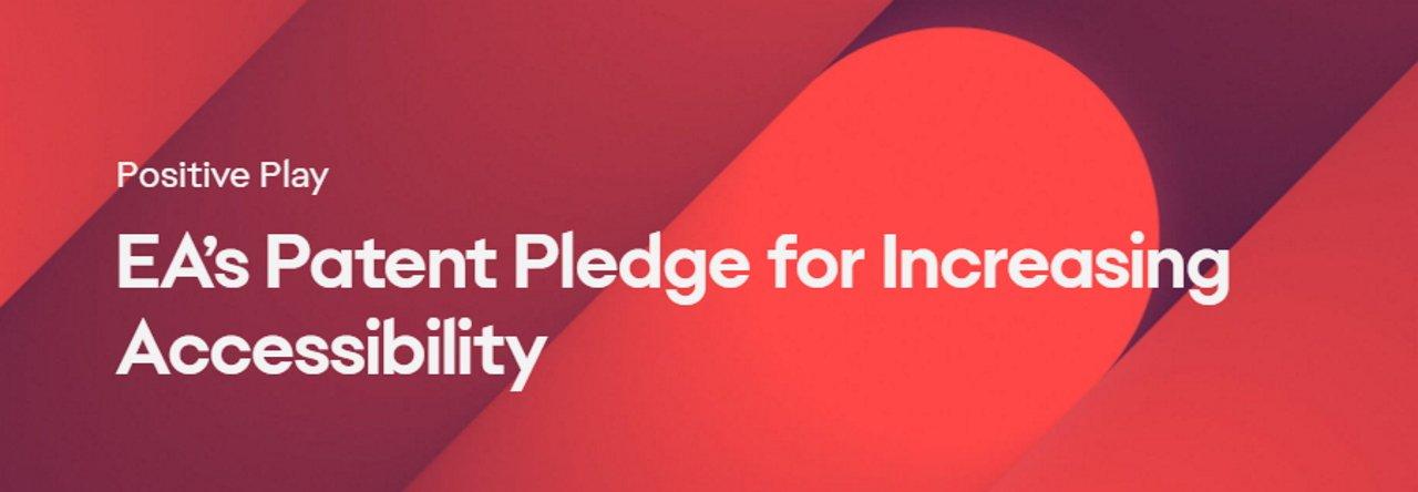 EA patent pledge accessibility