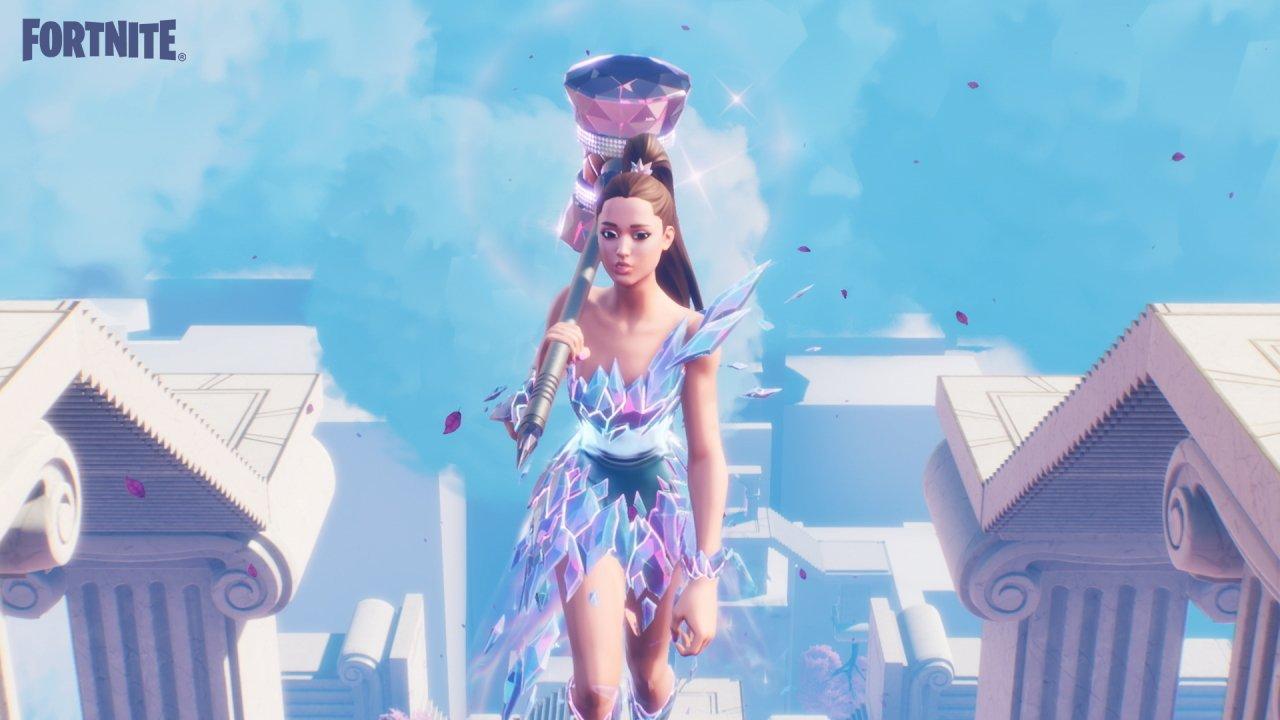 Fortnite Ariana Grande rift tour concert watch