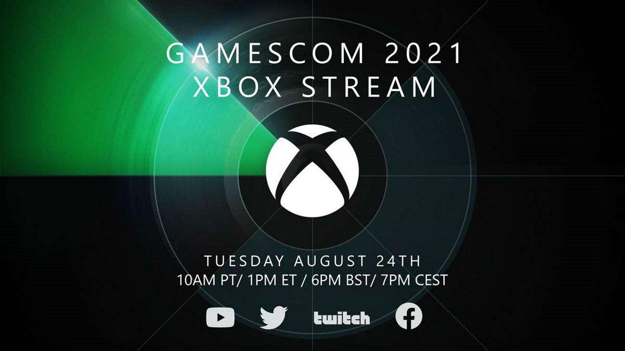 Gamescom 2021 xbox stream when to watch
