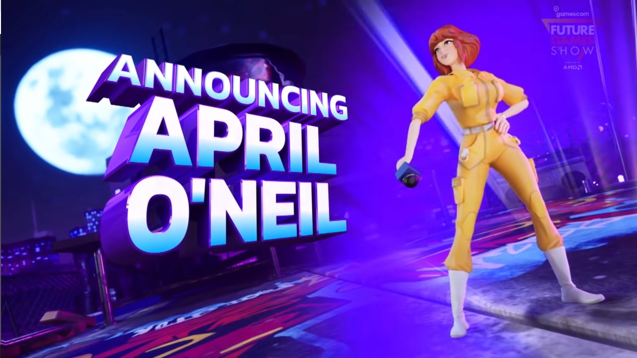 Nickelodeon all star brawl characters roster april oneil