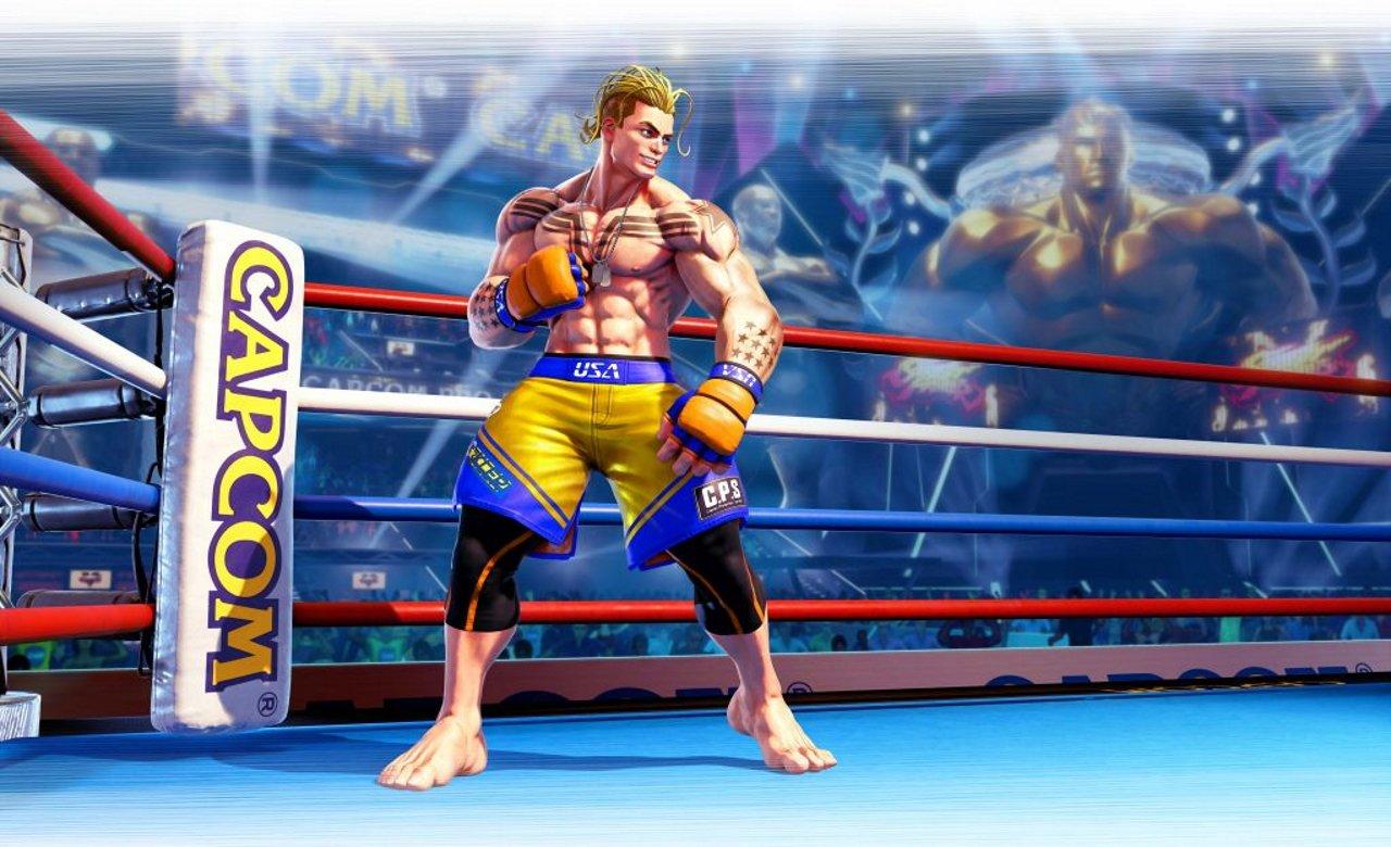 Street Fighter 5 luke sf6 lead