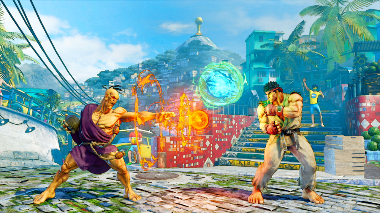 Street Fighter 5 oro dlc character