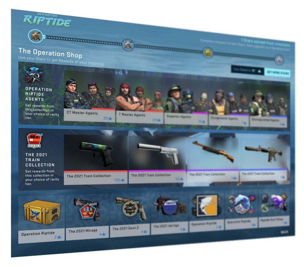CS Go Operation riptide rewards