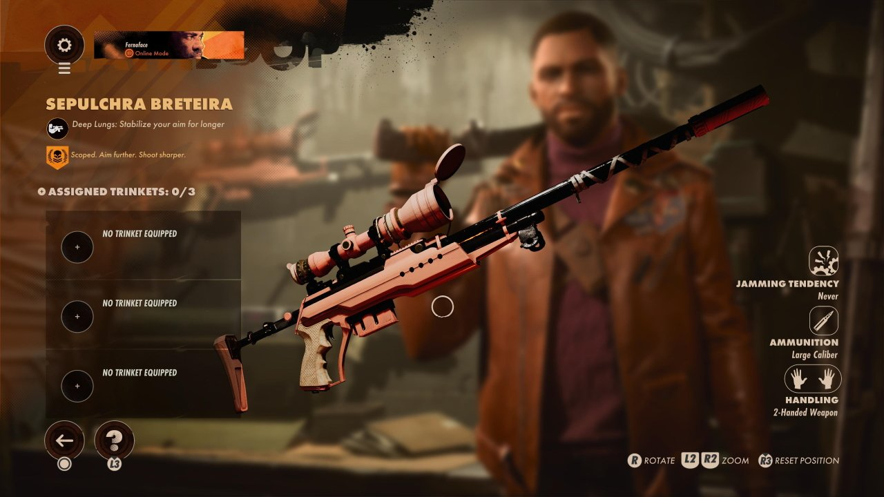 Deathloop get the sepulchra breteira sniper rifle guide keep on giving