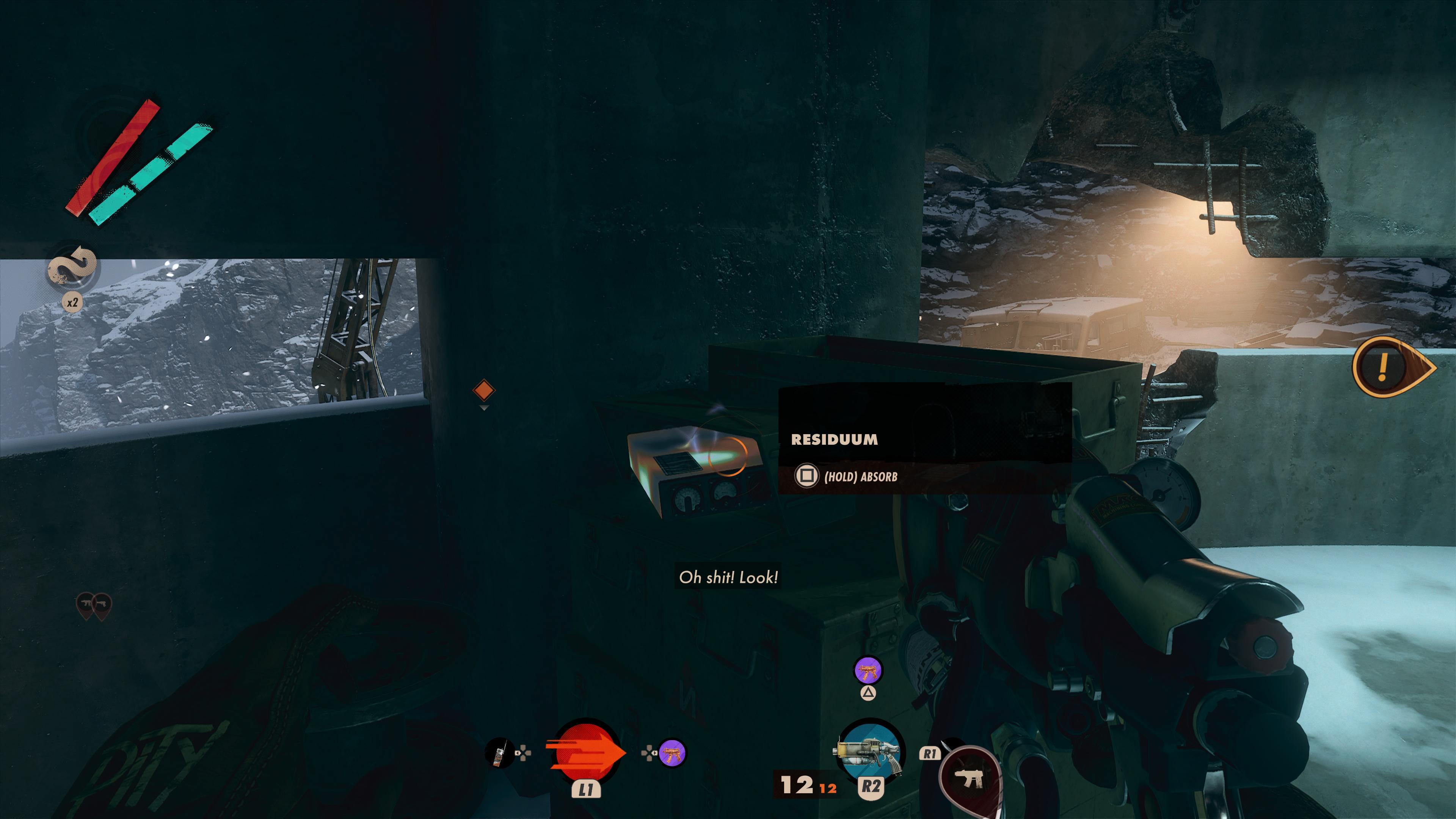 Deathloop glowing items use explained