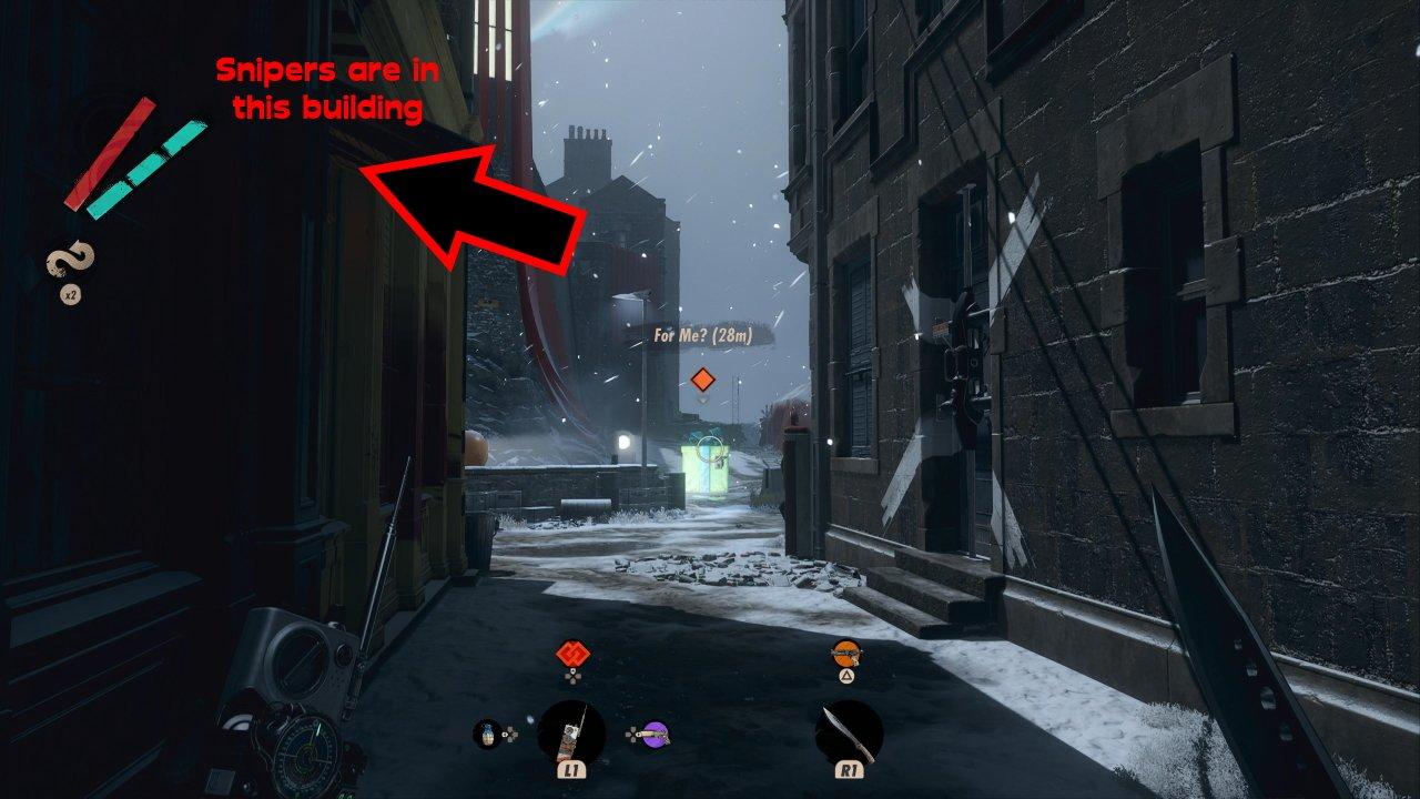 Deathloop keep on giving guide sepulchra breteira sniper rifle