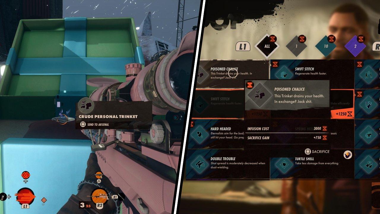 Deathloop keep on giving sniper rifle thread guide