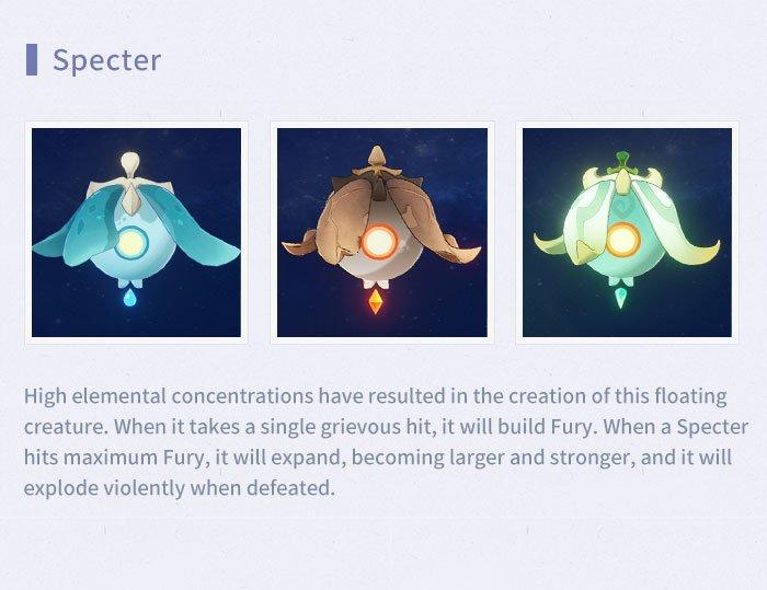 Genshin Impact Specter locations guide © miHoYo