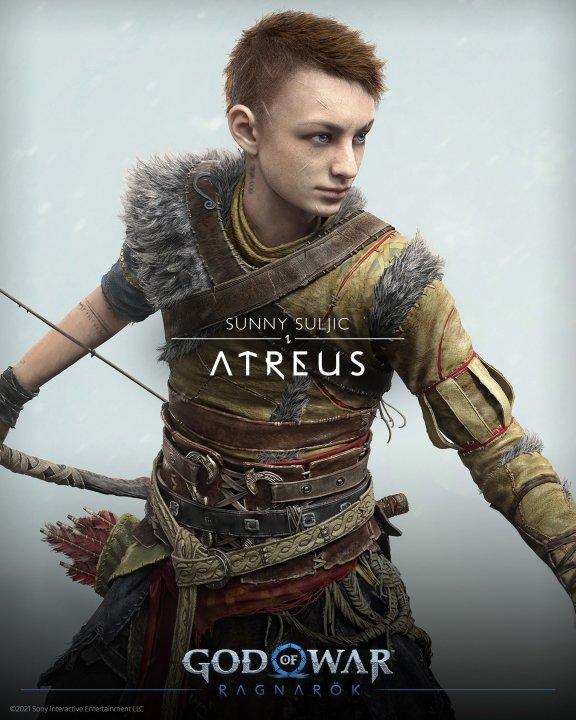 God of war cast characters atreus voice actor