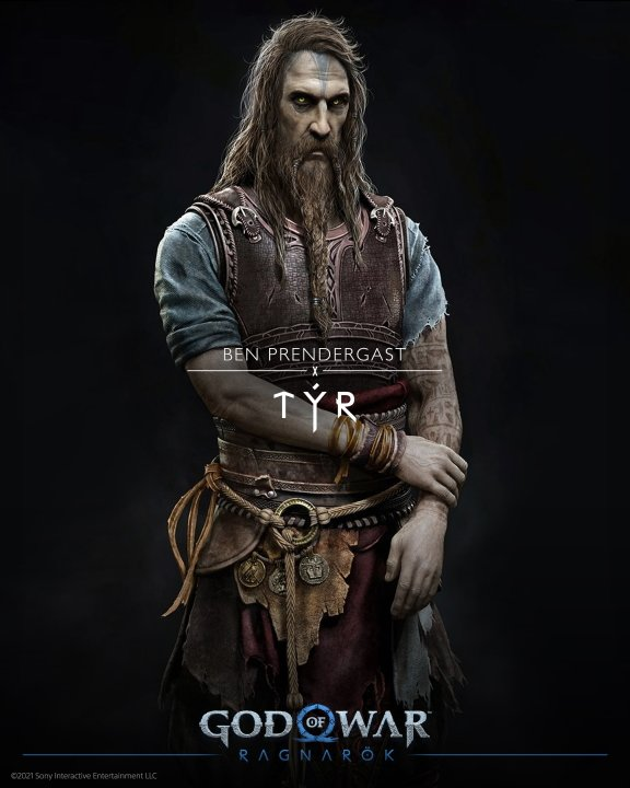 God of war cast characters tyr voice actor