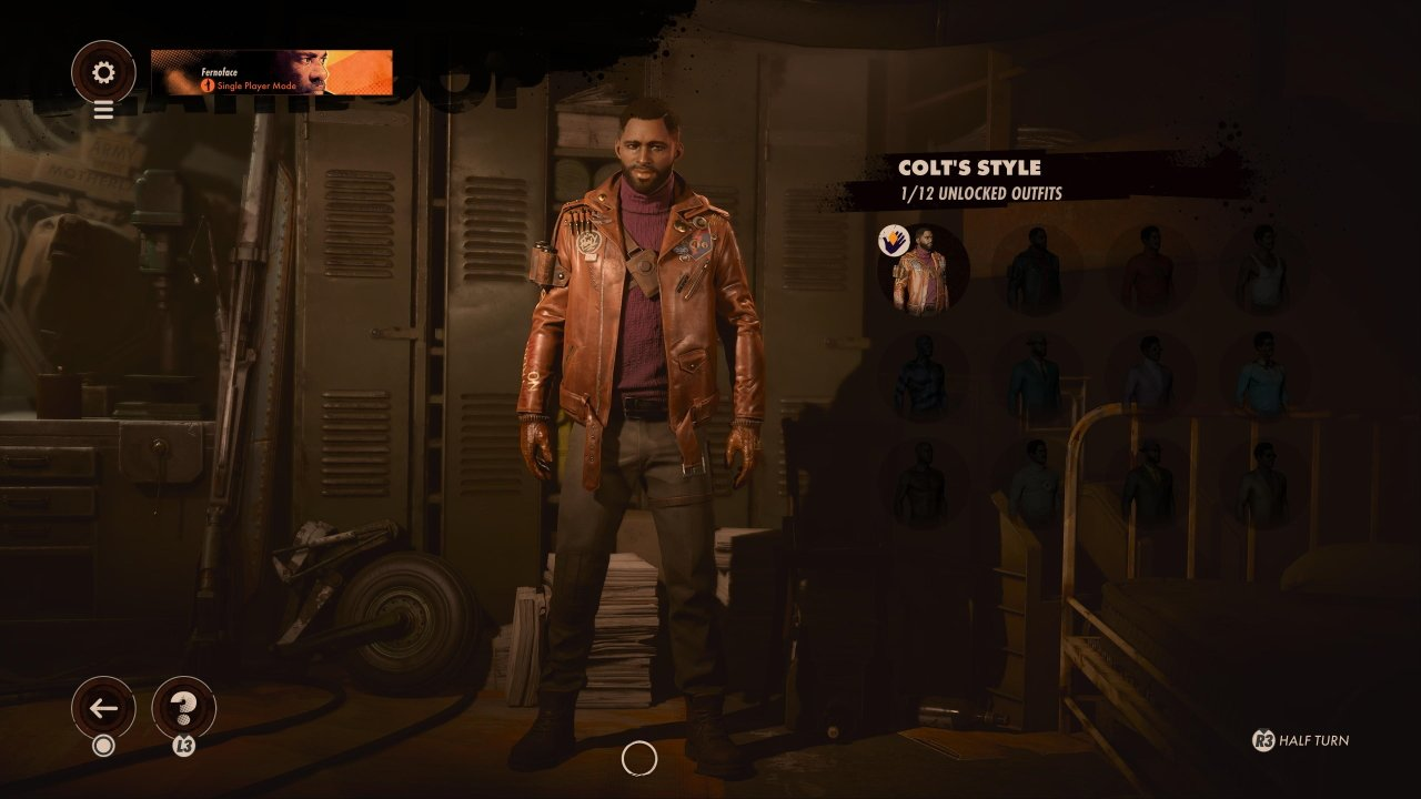 How to change outfit in Deathloop