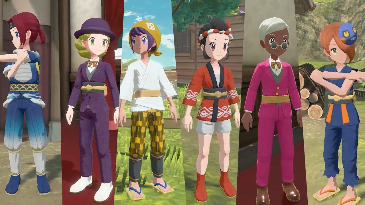 Pokemon Legends arceus customization