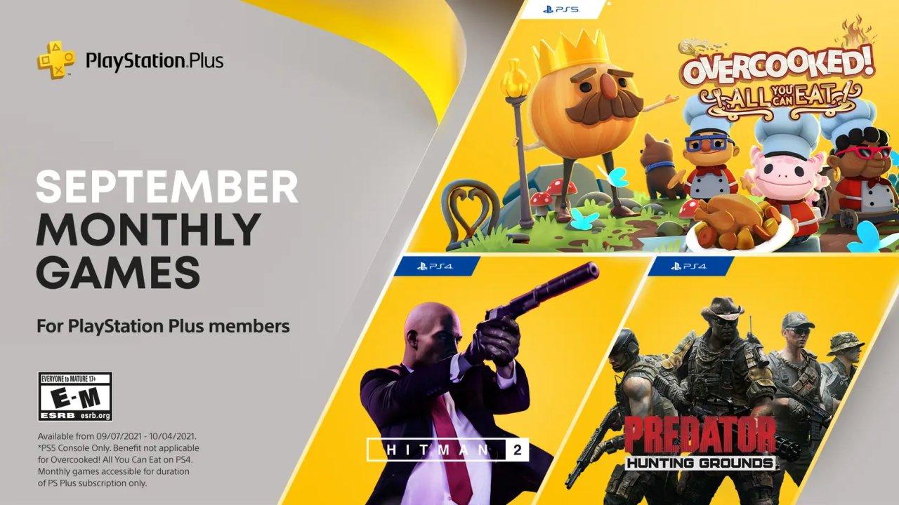 PS Plus september games