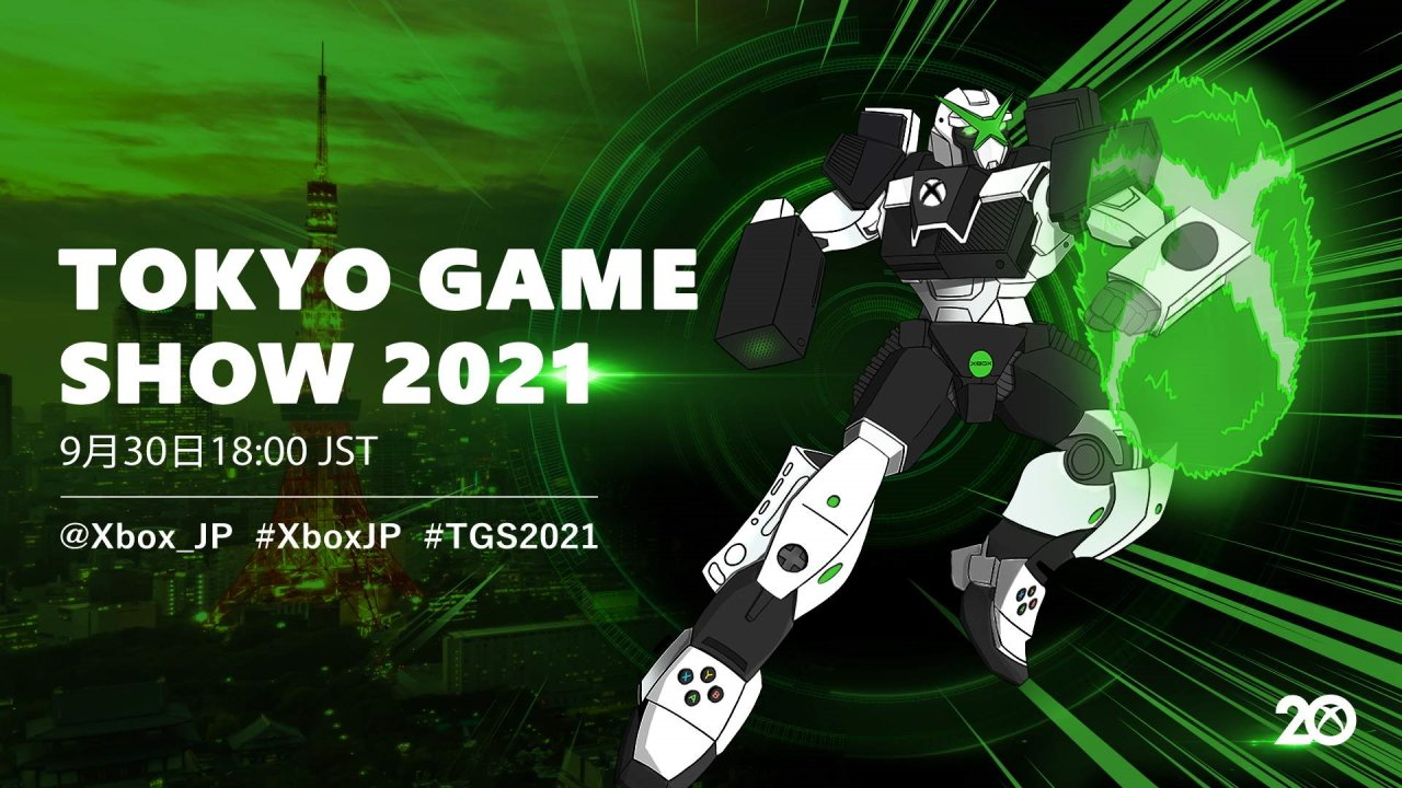 Tokyo Game Show 2021 companies xbox stream