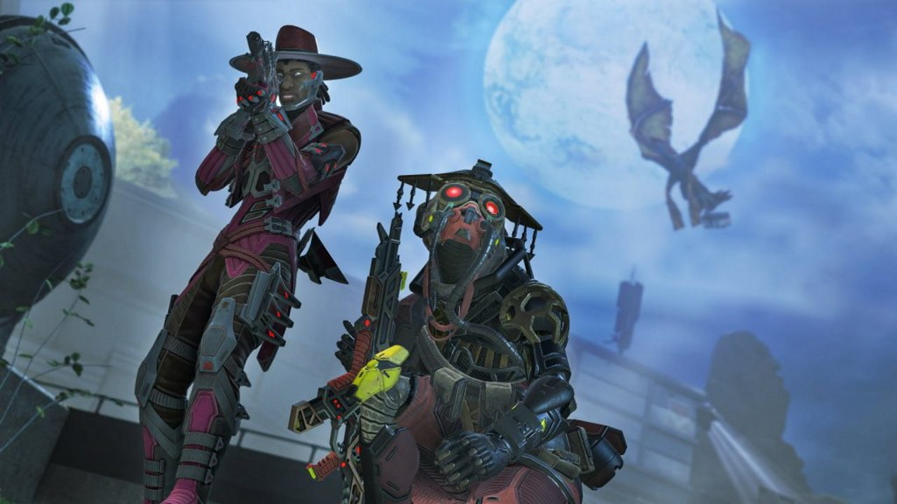 Apex Legends Monsters Within halloween skins bloodhound