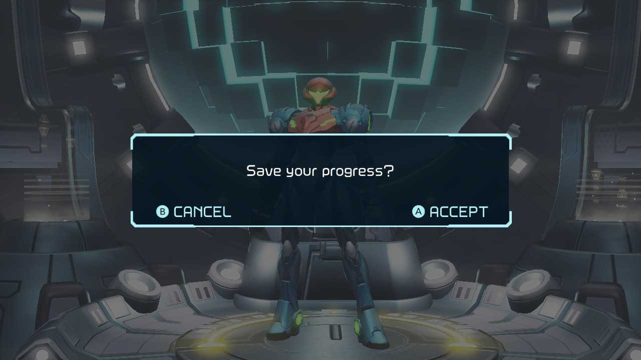 How to save in metroid dread