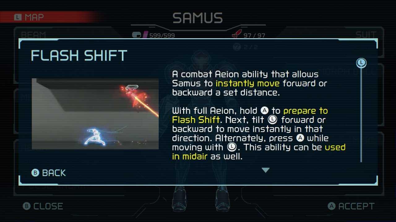 Metroid Dread Aeion Abilities Flash Shift