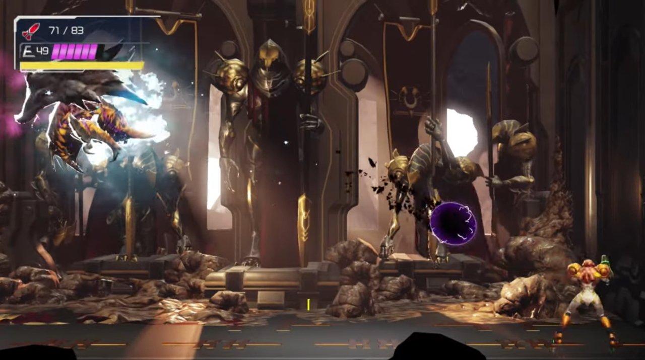 Metroid Dread Escue boss fight guide