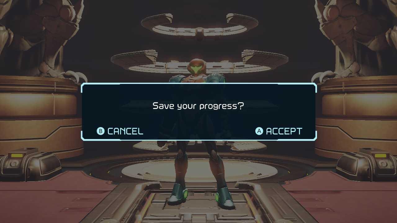 Metroid Dread How to save progress