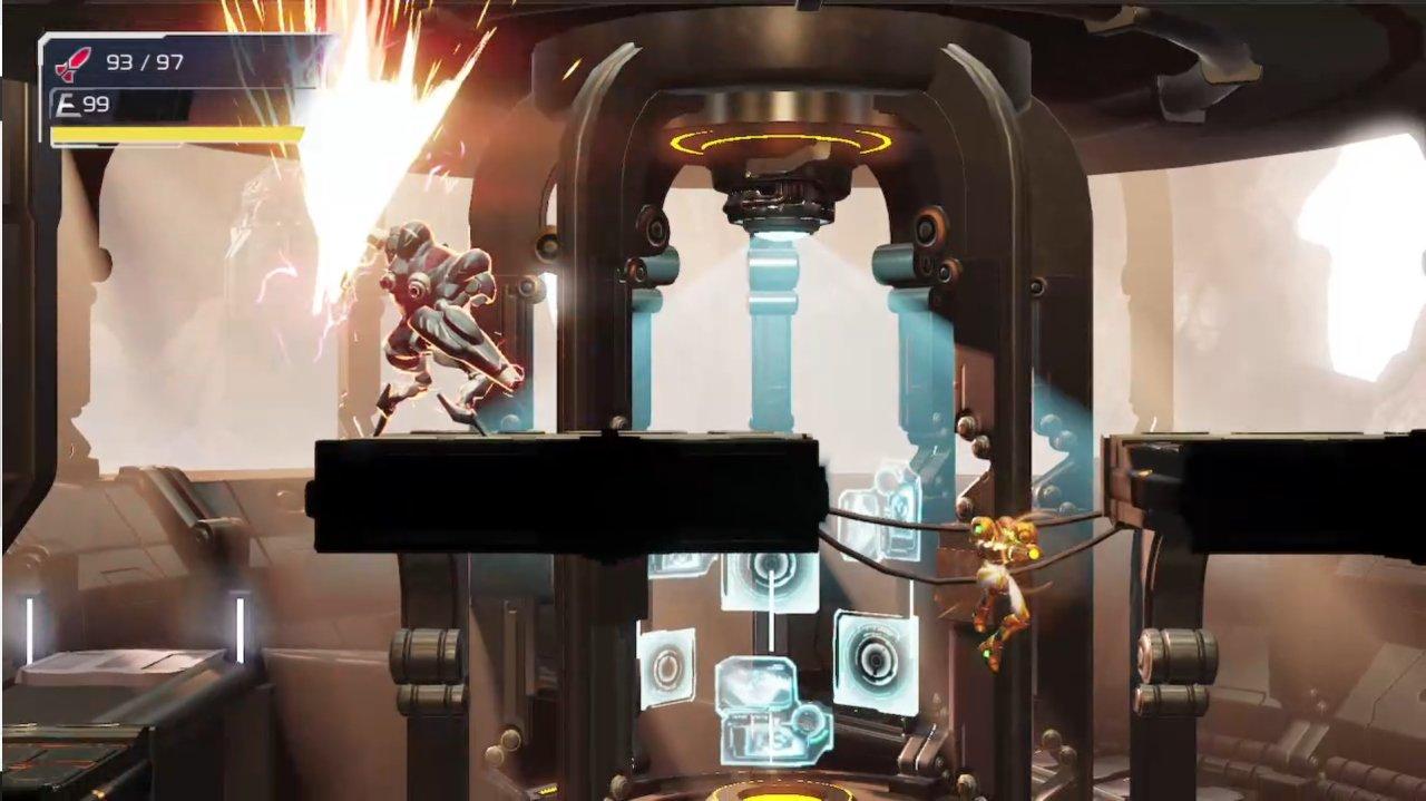 Metroid Dread Robot Chozo Soldier boss guide
