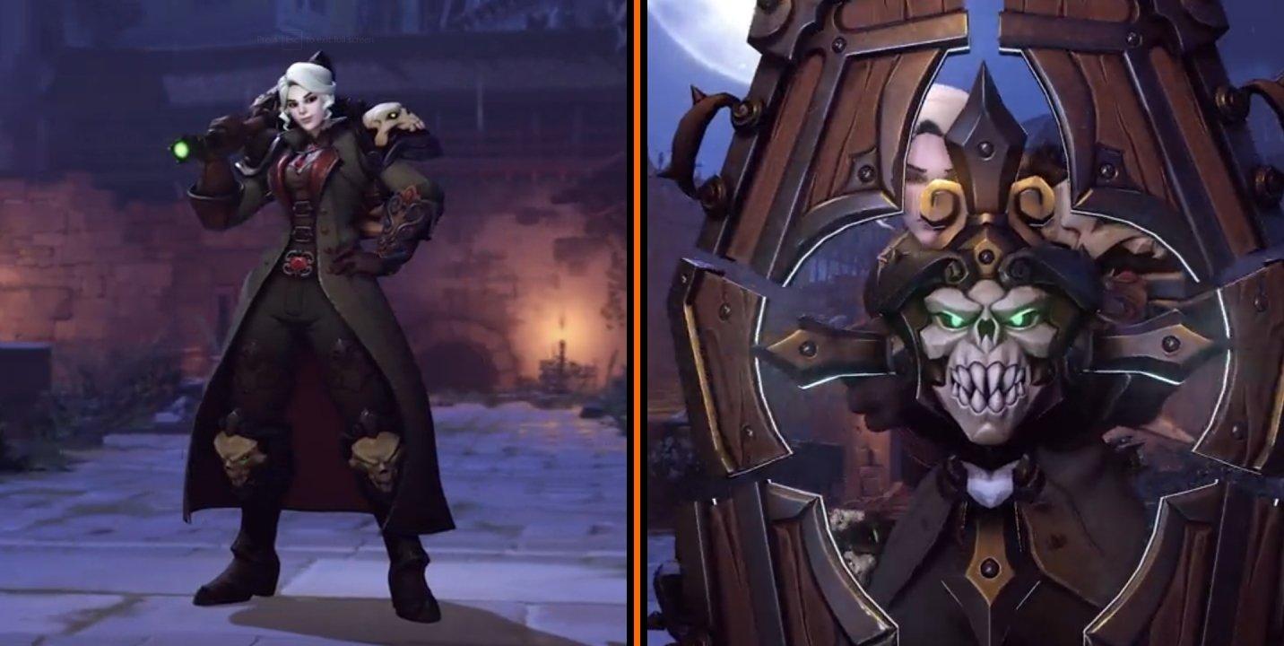 Overwatch halloween terror skins brigitte