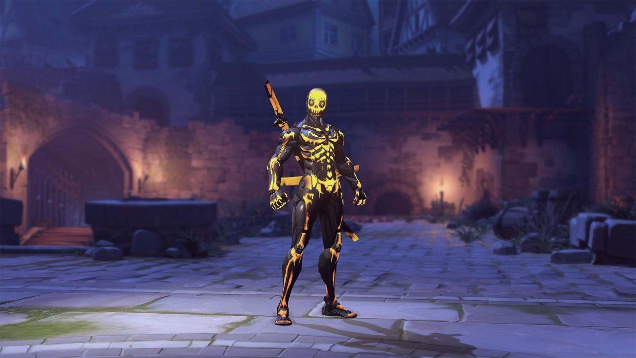 Overwatch Halloween Terrror 2021 skins genji