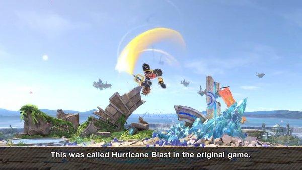 Sora moveset Smash Ultimate down air