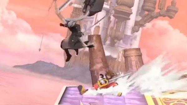 Sora Moveset smash Ultimate dash attack